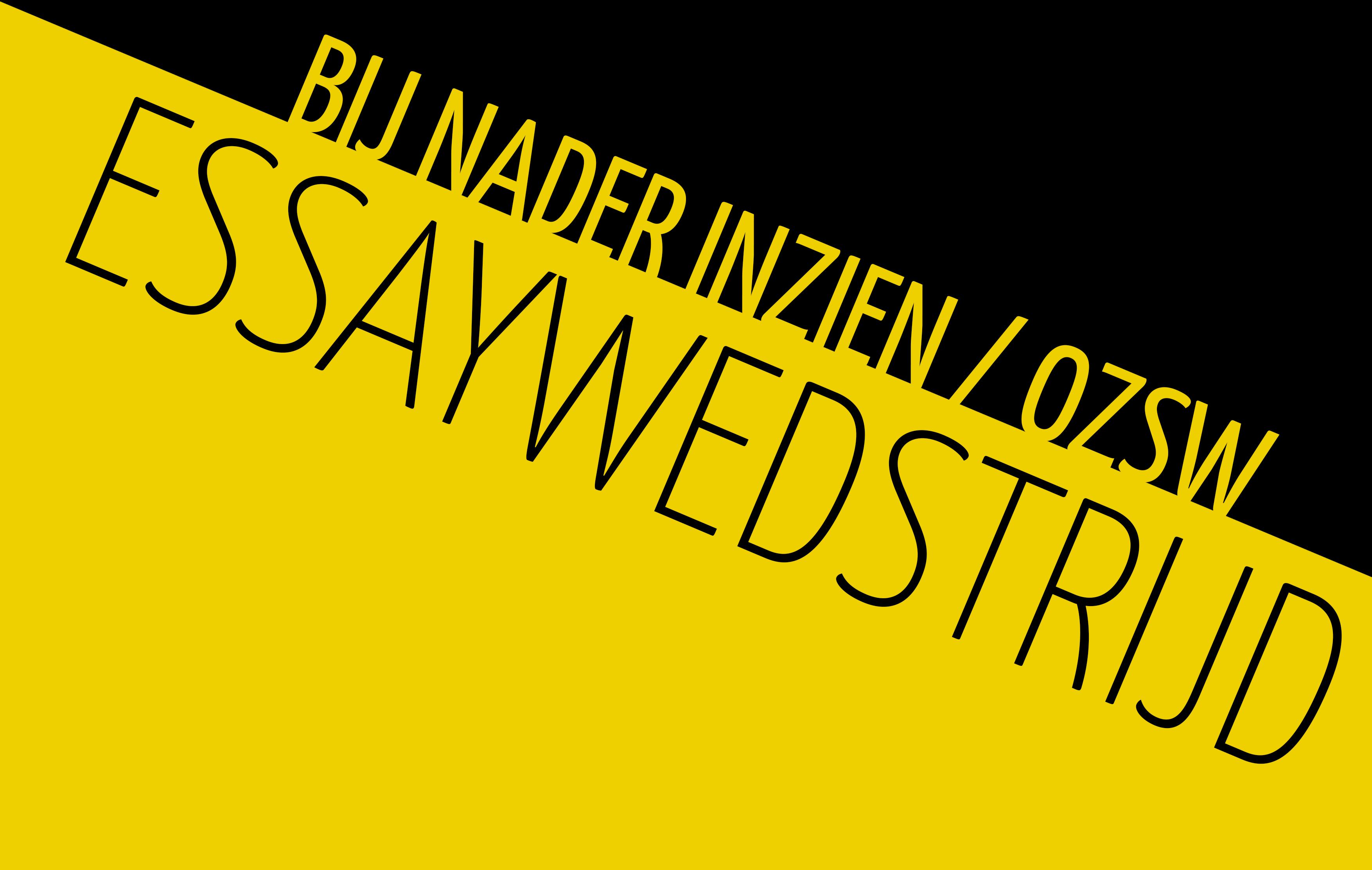 Winnaars OZSW/BNI essaywedstrijd bekend