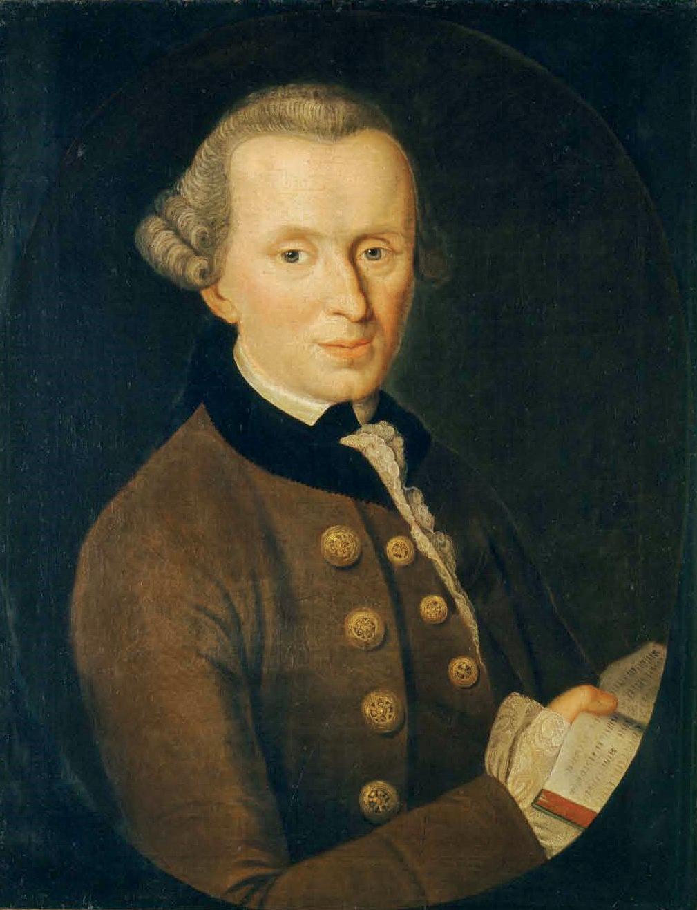 De galante professor Immanuel Kant